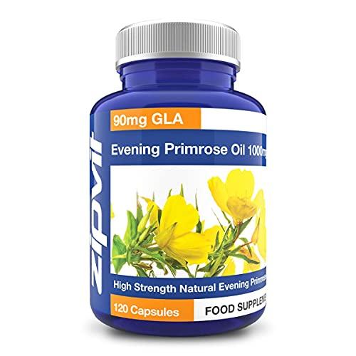 Olio di Enotera Capsule 1000 mg Pressato a Freddo, 120...
