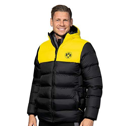 BVB-Winterjacke schwarz/gelb für Herren L