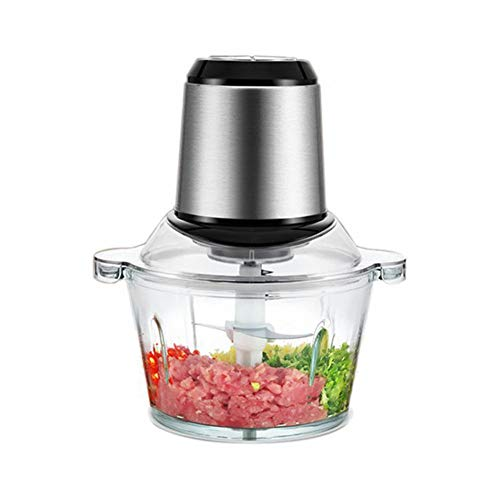 Ysss Doppelfeile Fleischwolf Multifunktions-Edelstahl-Mixer Home Commercial Twist Füllung Twisted Pepper Twisted Knoblauch Knoblauch-Maschine