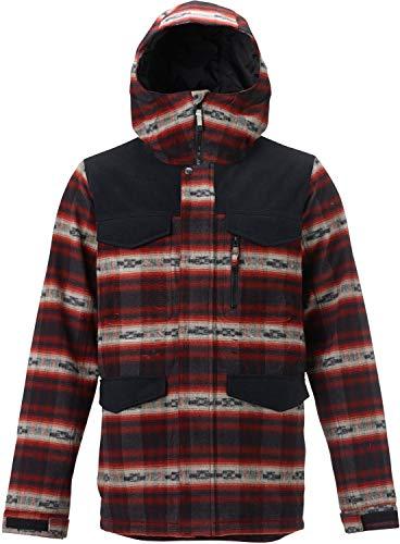 Burton Herren Ski/Snowboardjacke Covert Jacket, Herren, Feuerstein Azrek, Small