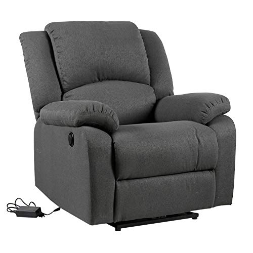 Happy Garden Fauteuil électrique inclinable Cloud Gris Anthracite