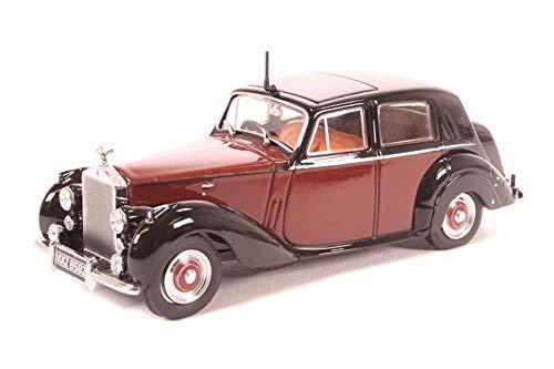 Rolls Royce Silver Dawn, dunkelrot/schwarz, RHD, 0, Modellauto, Fertigmodell, Oxford 1:43