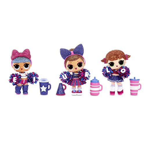 Sports Series 2 Cheer Team Sparkly Dolls