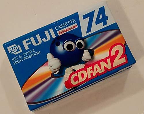 Fujifilm CDFAN 2 Cinta Virgen de Cassette, Cromo, 74 Minutos