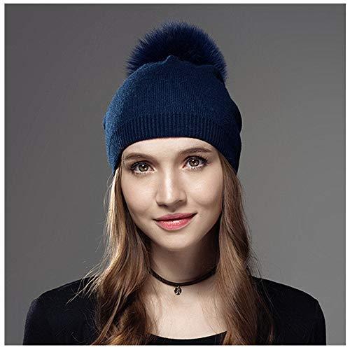 InsideOut Damen Strickmütze blau blau Le Tour de tête 56-58cm