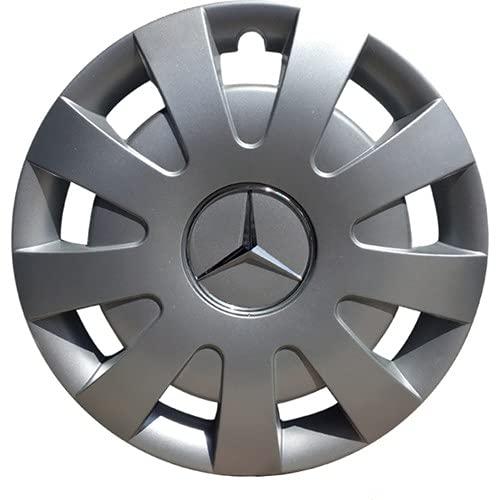 Tapas De Cubo De Centro De Rueda 4 piezas compatibles con Mercedes Sprinter 16 'pulgadas de la cubierta de la rueda Emblema ABS de plástico HUB CAP TAP DE LA TAPA DE LA RUEDA Accesorios para automóvil