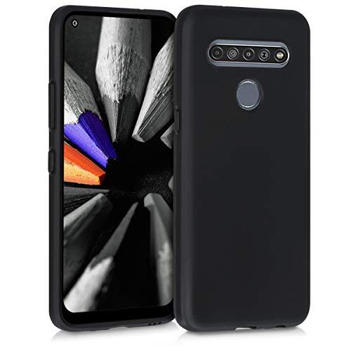 kwmobile Hülle kompatibel mit LG K61 - Handyhülle - Handy Hülle in Schwarz matt