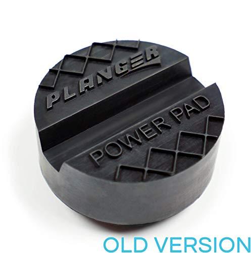 PLANGER® - Power Pad flach (alte Version) - Wagenheber Gummiauflage für Rangierwagenheber-Universal Gummiauflage Wagenheber-Schützt Ihren PKW und SUV robustem Gummi