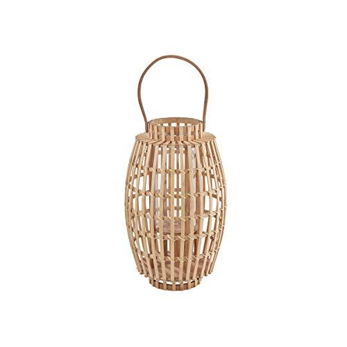 Butlers Bamboo Nights Laterne mit Henkel 36 cm