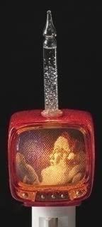Roman Lights Santa TV Nightlight * Decorative Home Bubble Christmas