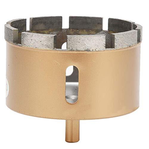 Abridor de agujeros Práctico y eficaz Abridor de mármol de sierra de agujero universal para quitar virutas de vidrio(90mm)