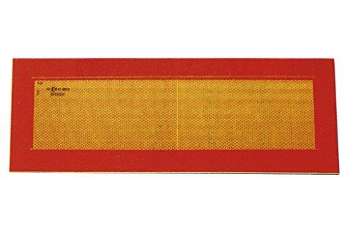 Cofan 199009 Placa V-6 para Vehículos Largos, 565 x 200 mm