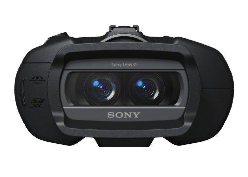 Sony DEV-5 Fernglas mit digitaler Aufnahme, Schwarz