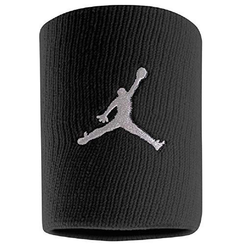 Nike Jordan Jumpman Wristband Schweißband 2er Pack (one Size, Black/White)