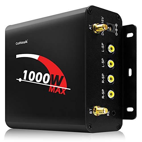 GoHawk Replacement 4-Channel Bluetooth Stereo Amplifier w/AUX USB SD Radio for TJ4-Q TN4-Q TS5-Q...