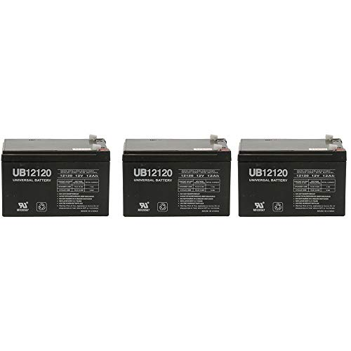 6 Pack Brand Product UPS A Mighty Max Battery 6V 12AH F2 Battery Replacement for Oneac ON900
