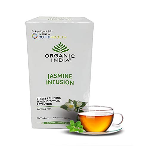 Organic India Jasmine Infusion 25 Tea Bag