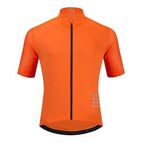 Sunbike Maglie Ciclismo Uomo Manica Corta Traspirante Abbigliamento Ciclismo per Bici, Motociclista, Bicicletta