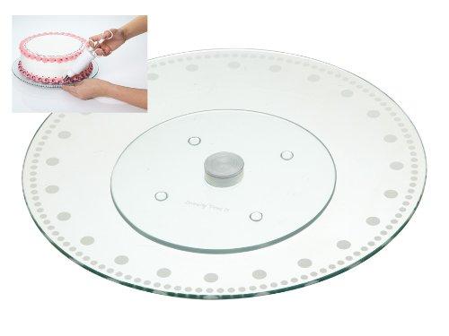 Kitchencraft M128690 - Base Cristal giratoria Pasteles