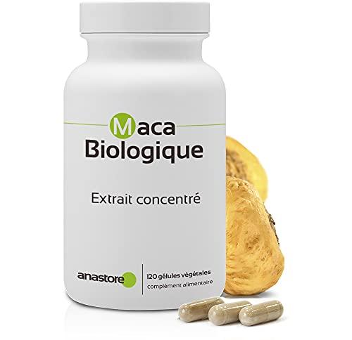 MACA BIOLOGICA * 500 mg / 120 capsule * Estratto concentrato 4:1 * Energia, Equilibrio emozionale, Vitalità