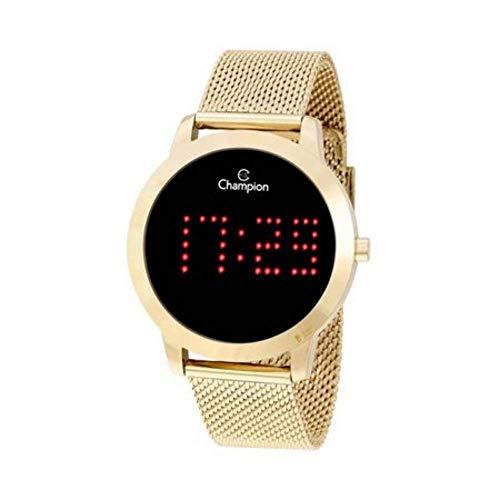 Relógio Digital Feminino Champion Dourado ch40017v