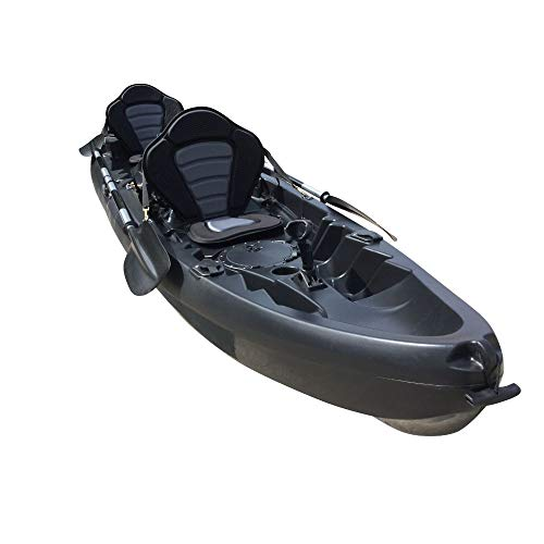 Cambridge Kayaks ES, Sun Fish TÁNDEM SÓLO 2 + 1,Negro RIGIDO