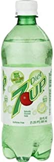 7 UP Diet Soda Soft Drink, 20-Ounce (Pack of 24)