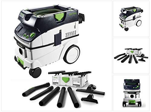 Festool CTL 26 E AC CLEANTEC Aspirateur mobile + Kit de nettoyage compact Festool D 27 / D 36 K-RS-Plus + Systainer