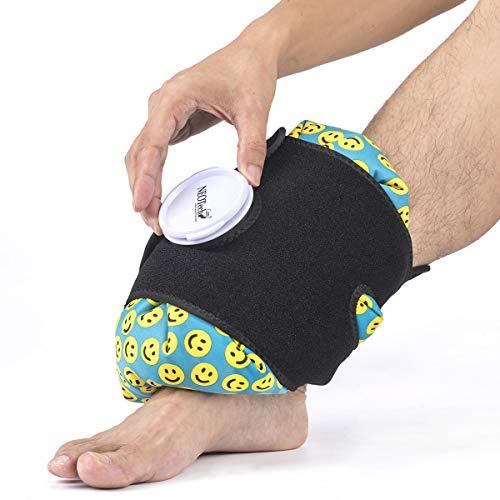 Correa para bolsa de hielo - Apta para cualquier bolsa de hielo de Neotech Care - Fija la bolsa de hielo - Cinta ajustable