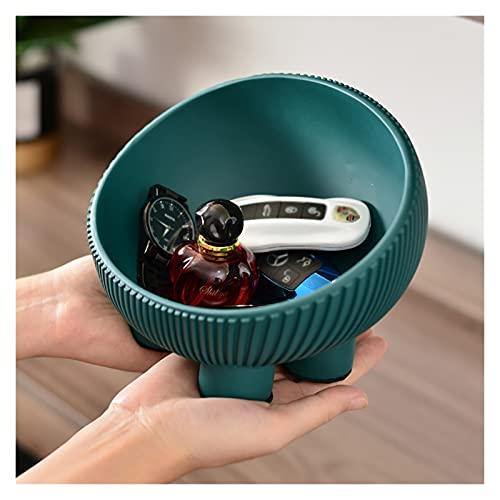 Cueque de llaves para la mesa de entrada moderna, resina joyería clave de almacenamiento de teléfono, copa de almacenamiento de moneda de plato de dulces decorativos creativos para el regalo de la fie