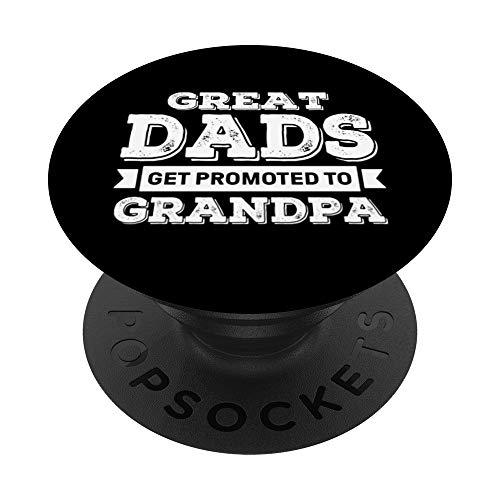 Los grandes papás consiguen promovidos al abuelo - el abuelo PopSockets PopGrip: Agarre intercambiable para Teléfonos y Tabletas