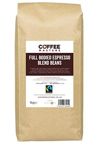 Koffie Meesters Espresso Koffie Bonen Vol Van Smaak 1kg - Fairtrade
