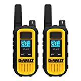DEWALT DXFRS300 1 Watt Heavy Duty Walkie Talkies - Waterproof, Shock Resistant, Long Range & Rechargeable Two-Way Radio with VOX (2 Pack)