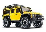 Traxxas Landrover Defender Brushed Auto RC électrique Crawler 4 Roues motrices (4WD) prêt à fonctionner (RTR) 2,4 GHz