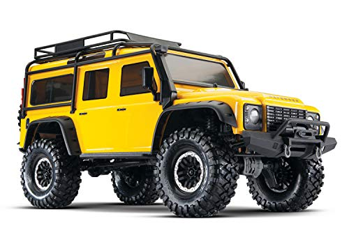 Traxxas TRX-4 Scale and Trail Crawler with Land Rover Defender Body: 4WD Electric Trail Truck with TQi Link Enabled 2.4GHz Radio System