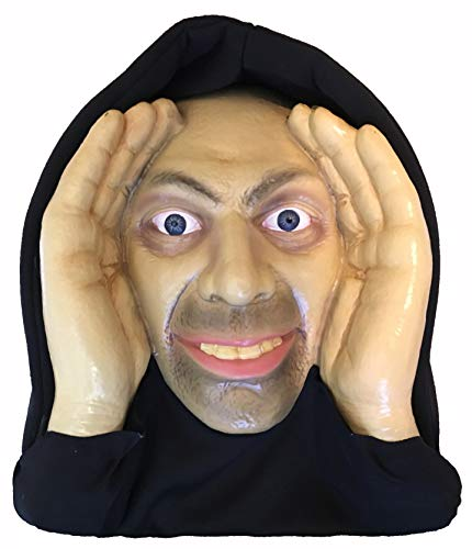 Scary Peeper Halloween Decoration Peeping Tom, Indoor and Outdoor Window Hanging Mask for Spooky House Party Scares, Tricks, and Laughs, Novelty Decor - The Freak