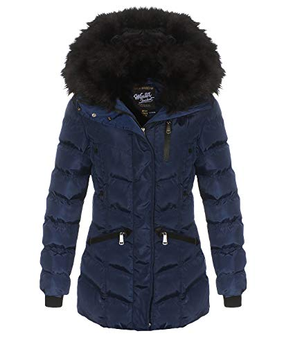Geographical Norway Doctor Lady Parka - Navy - XL