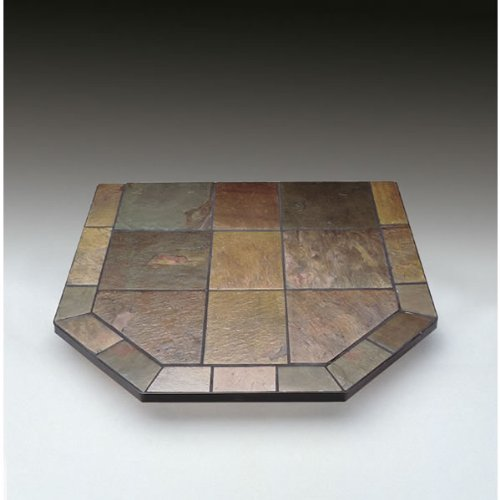 Chimney 49202 Asian Slate Double Cut Stove Board 40 x 40 Inch