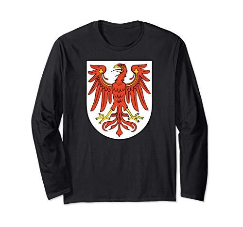 Escudo heráldico medieval de Brandenburgo Manga Larga