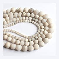SHUOYUE マットラウンドルースビーズハンドワーク天然石ブレスレットネックレス4月6日/ 8 / 10MM (Color : Phoenix Jade, Size : 6mm)