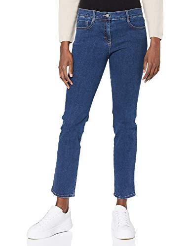 BRAX Damen Style Shakira Skinny Jeans, Blau(CLEAN REGULAR BLUE), W29/L32 (Herstellergröße: 38)