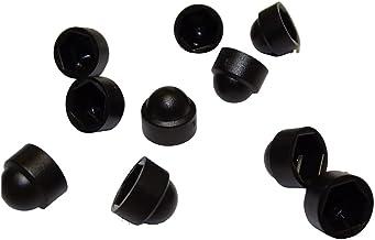 Zaundirekt 10 x Zeshoekige beschermkap M5 zwart