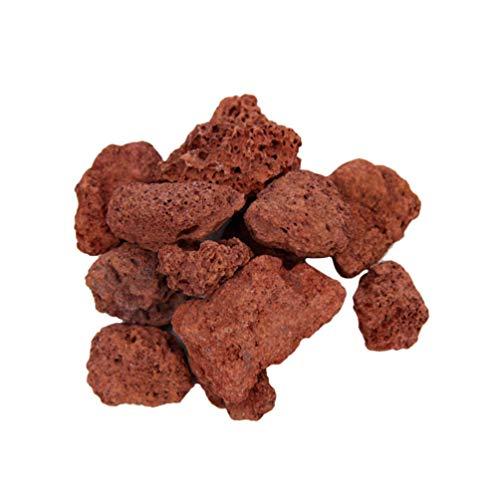 POPETPOP Rocas Volcánicas Natural Bajo El Agua Adorno de Roca de Lava Piedra de Lava Material de Filtro para Pecera 450G