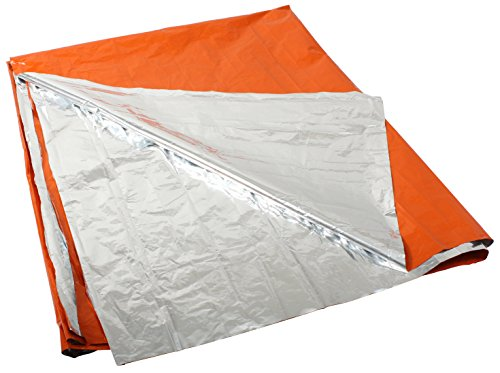 Rothco Polarshield Survival Blanket, Orange/Silver