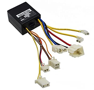 LotFancy 24V Control Module with 7 Connectors for Razor E100(V10+), E125 (V10+), E150 (v1+), E175, eSpark(V41+), Trikke E2(V1+) Models, Replace PN: ZK2400-DP-LD (ZK2400-DP-FS), W13111612015