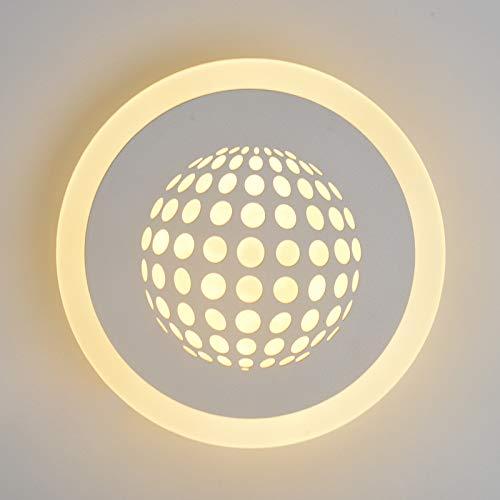 Aplique LED 8W 16W Luz Blanca Luz cálida Dormitorio Sala de Estar Mesita de Noche L