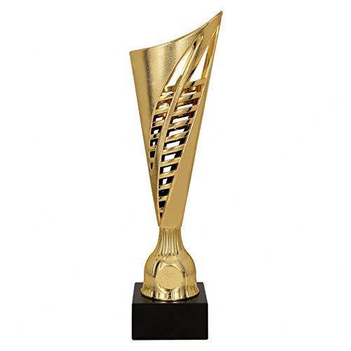 Coppa Economica in ABS Dorato h 33,00 cm Targhetta Personalizzata Omaggio Coppe e trofei per premiazioni Sportive