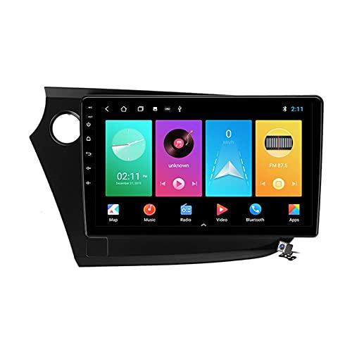 Buladala Android 9.1 GPS Navigation Stereo Radio para Honda Insight 2 2009-2014, 9' Pantalla Coche Media Player Soporte Carpaly Android Auto/5G FM RDS/Control Volante/BT Hands-Free,M100s