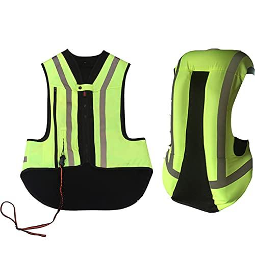 Chaleco Para Montar A Caballo Chaleco De Airbag De Motocicleta Airbag De Gatillo Mecánico De 0,2 Segundos Utilizado Para Motocicletas Al Aire Libre, Protección De Conducción, Anti-caída Equipo de cicl