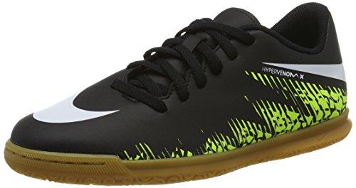 Nike 749911-017, Botas de fútbol Niño, Negro (Black/White-Volt-Paramount Blue), 33.5 EU